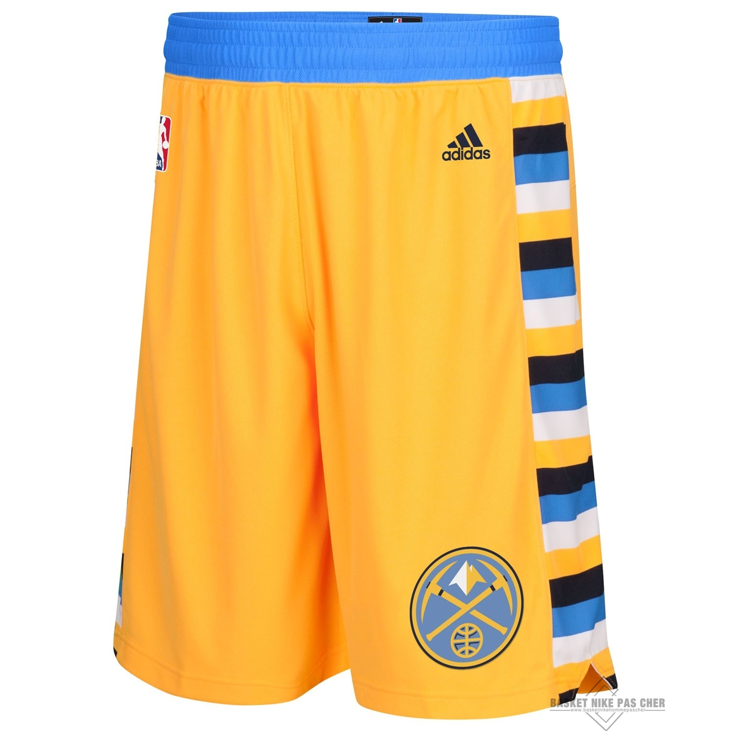 Maillot NBA Pas Cher - Short Basket Denver Nuggets Jaune