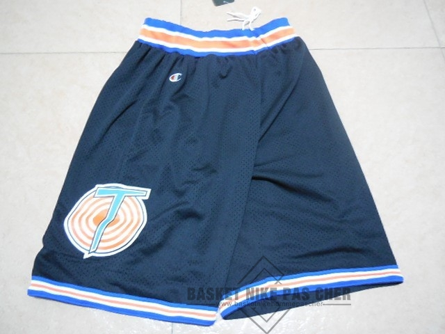 Maillot NBA Pas Cher - Short Basket Film Basket-Ball Tune Squad Noir
