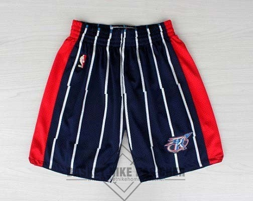 Maillot NBA Pas Cher - Short Basket Houston Rockets Bleu