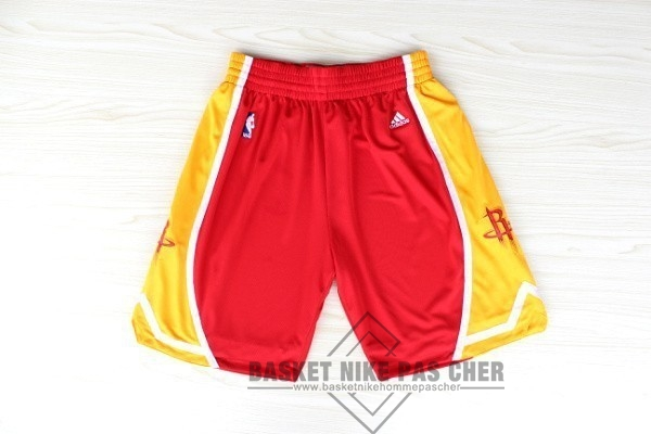 Maillot NBA Pas Cher - Short Basket Houston Rockets Retro Rouge