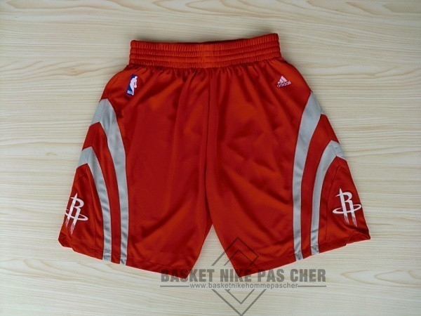 Maillot NBA Pas Cher - Short Basket Houston Rockets Rouge