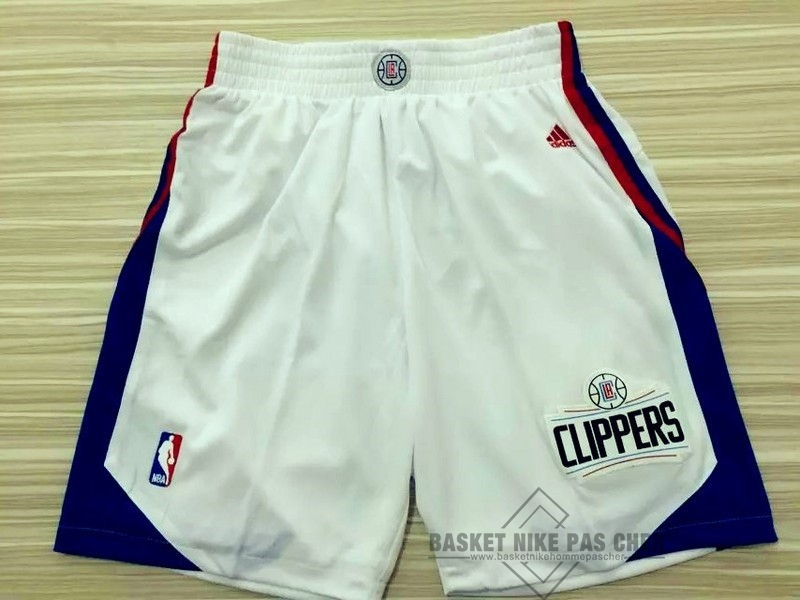 Maillot NBA Pas Cher - Short Basket Los Angeles Clippers Blanc