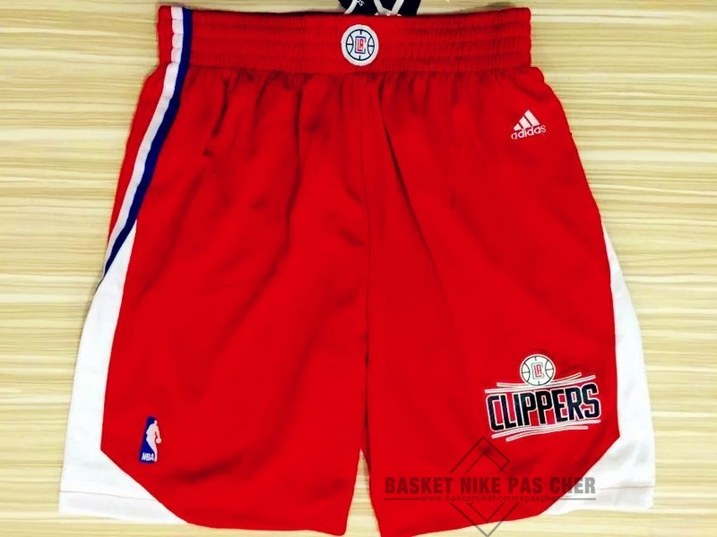 Maillot NBA Pas Cher - Short Basket Los Angeles Clippers Rouge