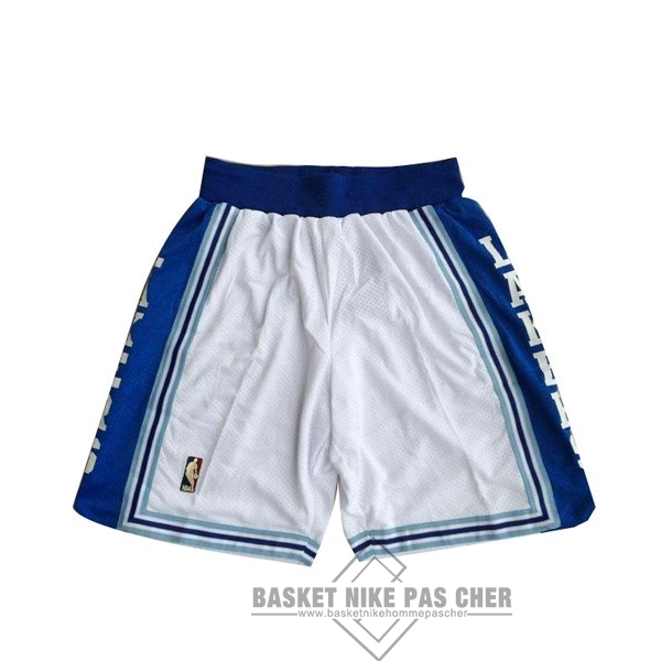 Maillot NBA Pas Cher - Short Basket Los Angeles Lakers Blanc