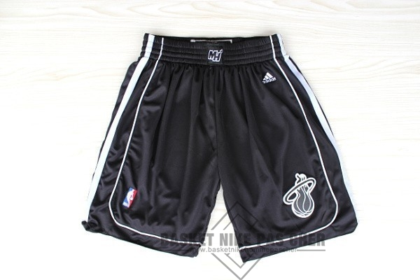 Maillot NBA Pas Cher - Short Basket Miami Heat Noir