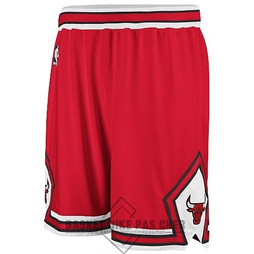 Maillot NBA Pas Cher - Short Basket Nike Chicago Bulls Rouge