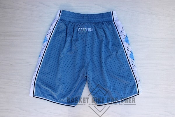 Maillot NBA Pas Cher - Short Basket North Carolina Bleu