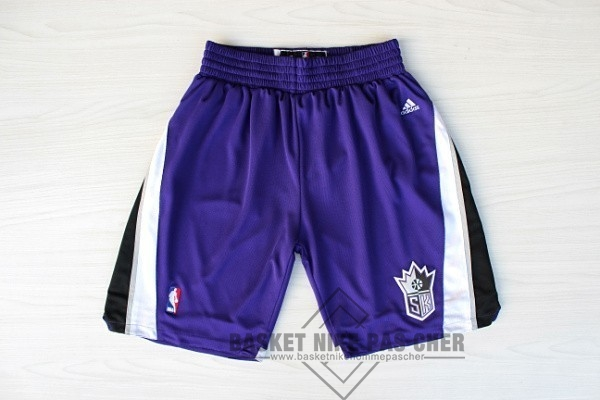 Maillot NBA Pas Cher - Short Basket Sacramento Kings Pourpre